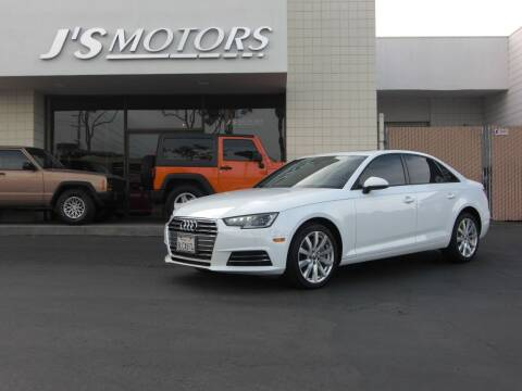 2017 Audi A4 for sale at J'S MOTORS in San Diego CA