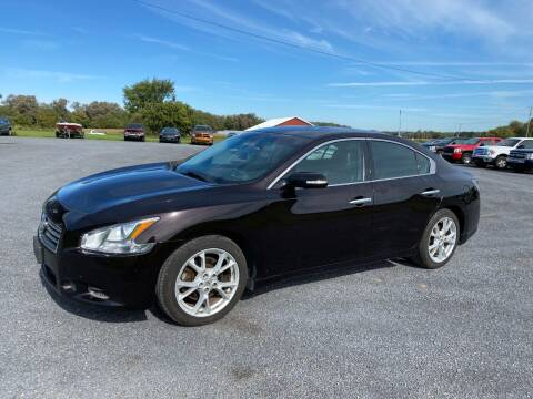 2013 Nissan Maxima for sale at Riverside Motors in Glenfield NY