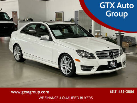 2013 Mercedes-Benz C-Class for sale at GTX Auto Group in West Chester OH