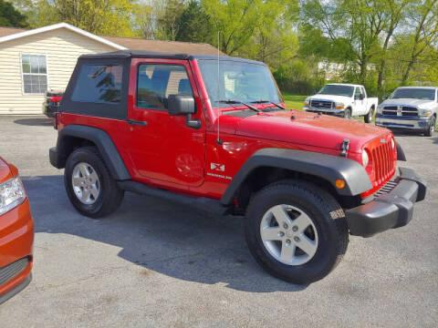 2008 Jeep Wrangler for sale at K & P Used Cars, Inc. in Philadelphia TN