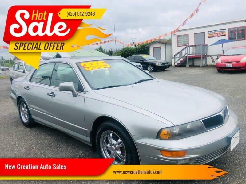 2001 Mitsubishi Diamante for sale at New Creation Auto Sales in Everett WA