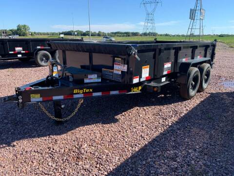 2022 Big Tex 14LP-14 Dump Box #7980 for sale at Prairie Wind Trailers, LLC in Harrisburg SD