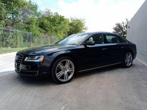 2015 Audi A8 L for sale at 57 Auto Sales in San Antonio TX