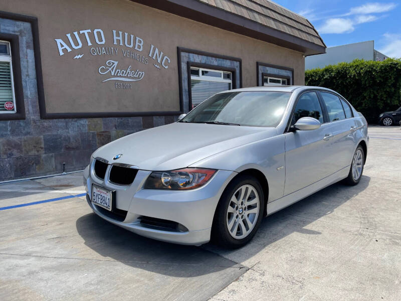 2007 BMW 3 Series for sale at Auto Hub, Inc. in Anaheim CA