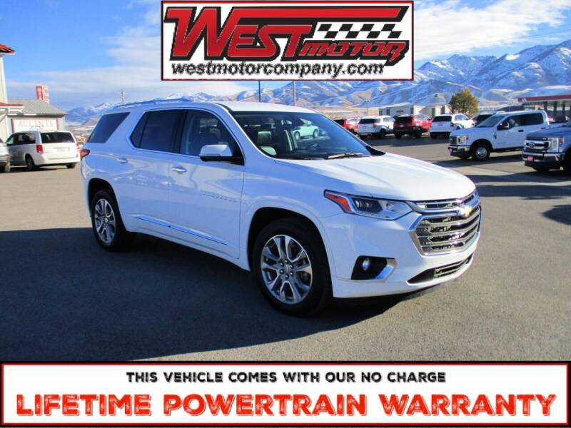 2020 Chevrolet Traverse for sale at West Motor Company in Hyde Park UT