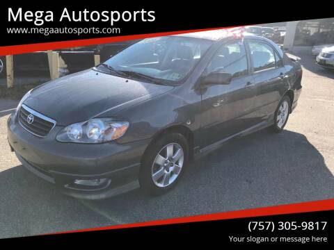 2006 Toyota Corolla for sale at Mega Autosports in Chesapeake VA