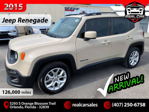 2015 Jeep Renegade for sale at Real Car Sales in Orlando FL