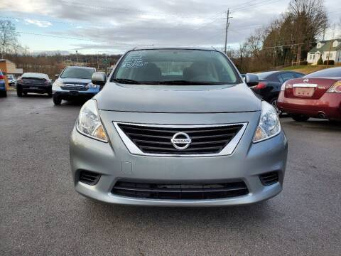 2014 Nissan Versa for sale at DISCOUNT AUTO SALES in Johnson City TN