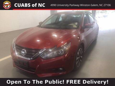 2017 Nissan Altima for sale at Credit Union Auto Buying Service in Winston Salem NC