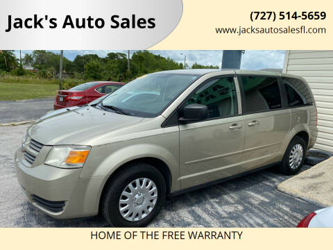 2009 Dodge Grand Caravan for sale at Jack's Auto Sales in Port Richey FL