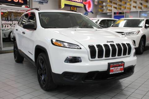 2016 Jeep Cherokee for sale at Windy City Motors in Chicago IL