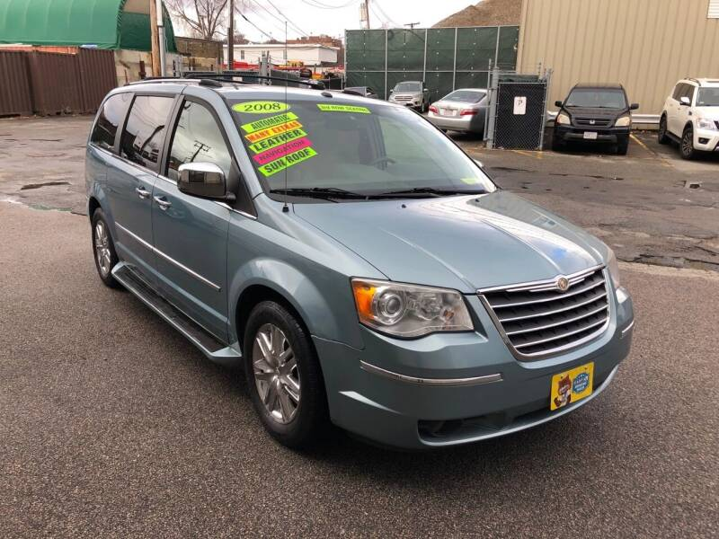 2008 Chrysler Town and Country for sale at Adams Street Motor Company LLC in Boston MA