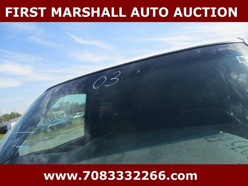 2003 GMC Sierra 1500 for sale at First Marshall Auto Auction in Harvey IL
