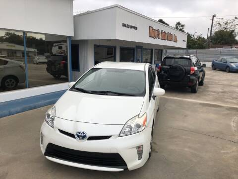 2014 Toyota Prius for sale at Moye's Auto Sales Inc. in Leesburg FL