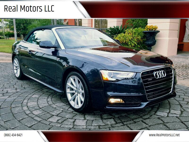 2016 Audi A5 for sale at Real Motors LLC in Clearwater FL