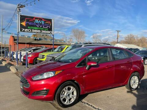 2016 Ford Fiesta for sale at AWD Denver Automotive LLC in Englewood CO
