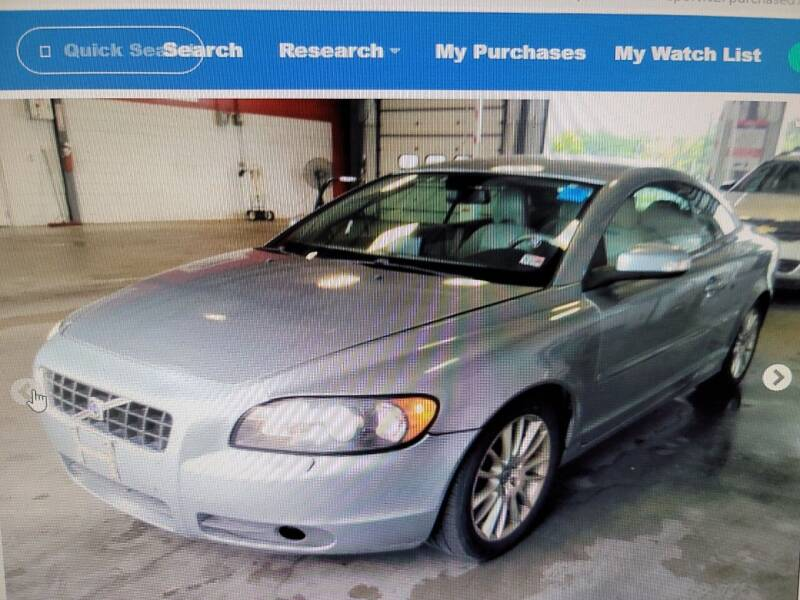 2008 Volvo C70 for sale at Wally's Cars ,LLC. in Morehead City NC