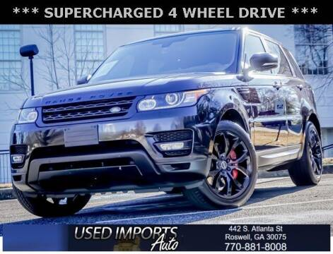 2015 Land Rover Range Rover Sport for sale at Used Imports Auto in Roswell GA