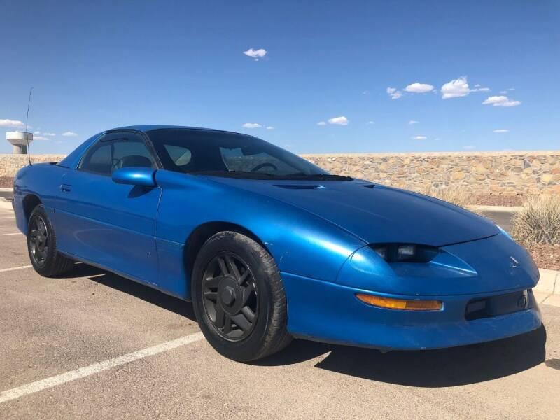 1995 Chevrolet Camaro for sale at Eastside Auto Sales in El Paso TX