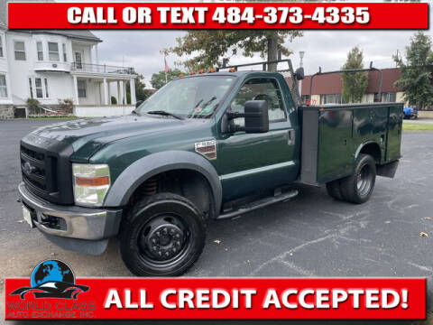 2008 Ford F-550 Super Duty for sale at World Class Auto Exchange in Lansdowne PA