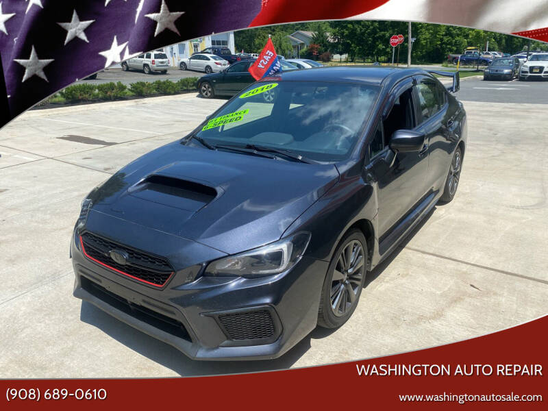 2018 Subaru WRX for sale at Washington Auto Repair in Washington NJ