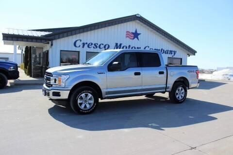 2020 Ford F-150 for sale at Cresco Motor Company in Cresco IA