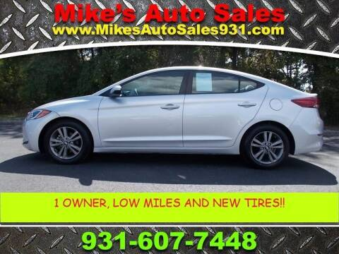 2017 Hyundai Elantra for sale at Mike's Auto Sales in Shelbyville TN