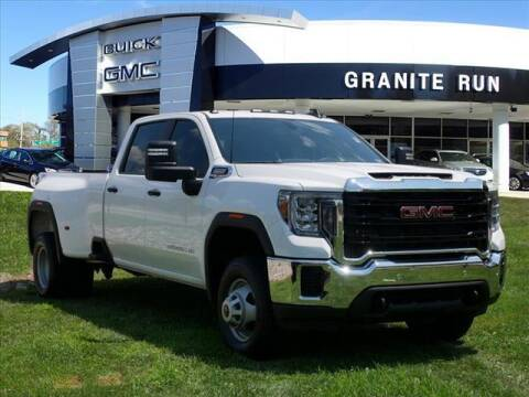 2021 GMC Sierra 3500HD for sale at GRANITE RUN PRE OWNED CAR AND TRUCK OUTLET in Media PA