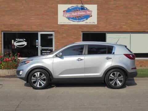 2013 Kia Sportage for sale at Eyler Auto Center Inc. in Rushville IL