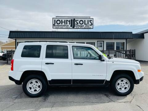 2016 Jeep Patriot for sale at John Solis Automotive Village in Idaho Falls ID