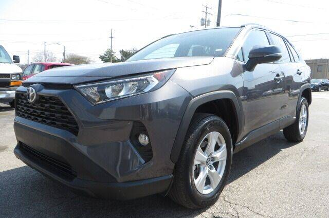 2021 Toyota RAV4 for sale at Eddie Auto Brokers in Willowick OH