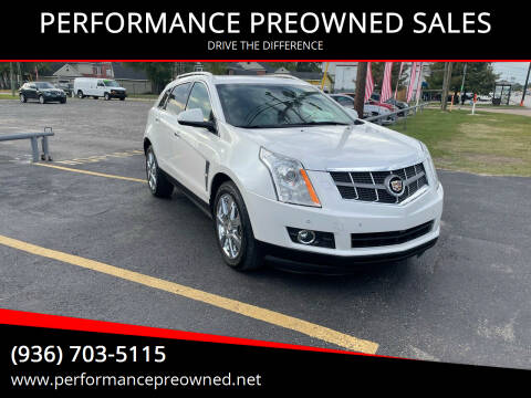 2012 Cadillac SRX for sale at PERFORMANCE PREOWNED SALES in Conroe TX