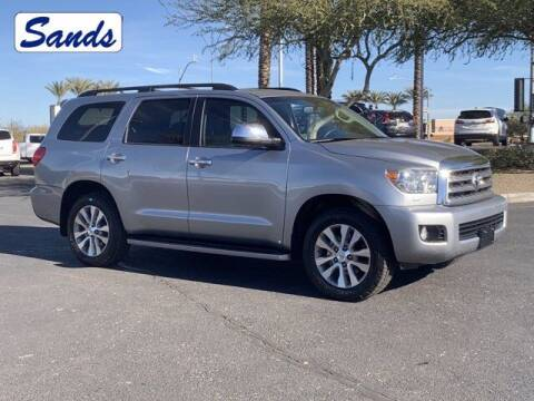 2016 Toyota Sequoia for sale at Sands Chevrolet in Surprise AZ