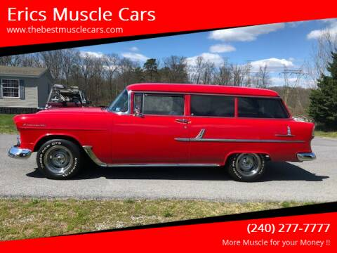 1955 Chevrolet 210 for sale at Erics Muscle Cars in Clarksburg MD