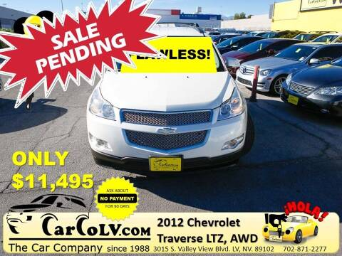 2012 Chevrolet Traverse for sale at The Car Company in Las Vegas NV
