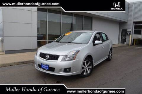2012 Nissan Sentra for sale at RDM CAR BUYING EXPERIENCE in Gurnee IL