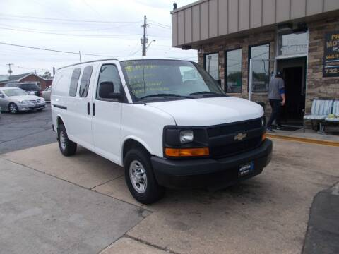 2016 Chevrolet Express Cargo for sale at Preferred Motor Cars of New Jersey in Keyport NJ