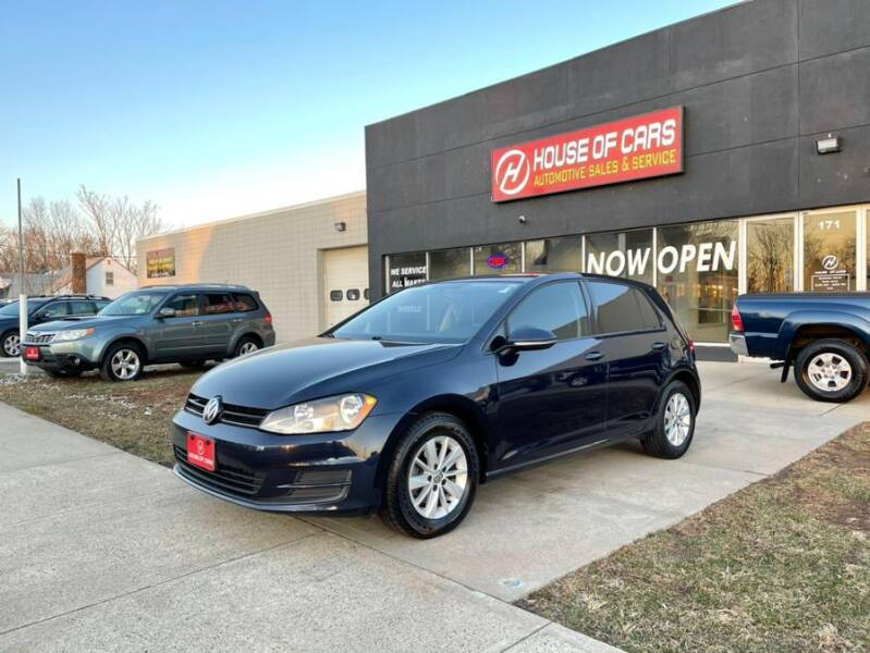 2015 Volkswagen Golf for sale at HOUSE OF CARS CT in Meriden CT