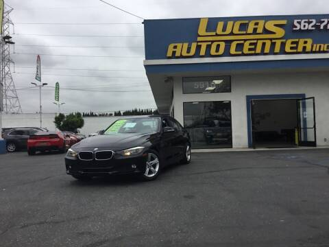 2014 BMW 3 Series for sale at Lucas Auto Center in South Gate CA