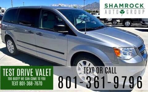 2015 Dodge Grand Caravan for sale at Shamrock Group LLC #1 in Pleasant Grove UT