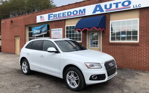 2015 Audi Q5 for sale at FREEDOM AUTO LLC in Wilkesboro NC