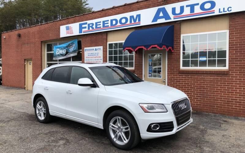 2015 Audi Q5 for sale at FREEDOM AUTO LLC in Wilkesboro NC