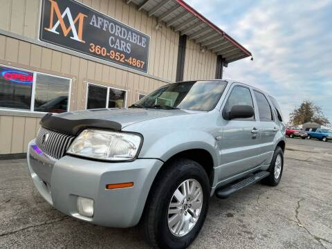 2005 Mercury Mariner for sale at M & A Affordable Cars in Vancouver WA