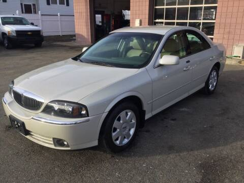 2005 Lincoln LS for sale at Pat's Auto Sales, Inc. in West Springfield MA