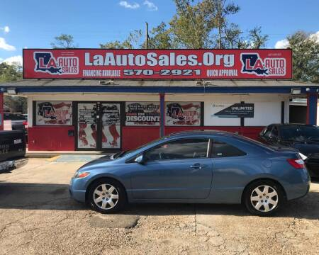 2008 Honda Civic for sale at LA Auto Sales in Monroe LA