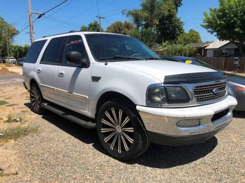 1998 Ford Expedition for sale at MEGA MOTORS ENTERPRISE INC in Modesto CA