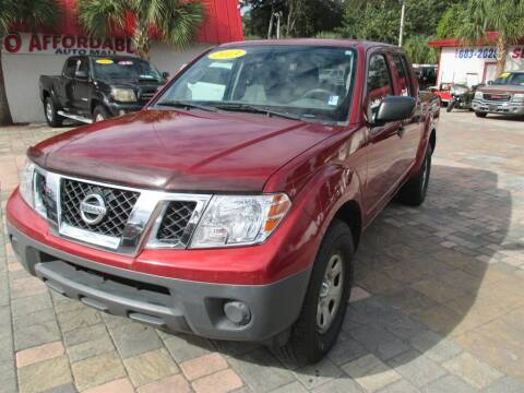 2013 Nissan Frontier S for sale at Affordable Auto Motors in Jacksonville FL