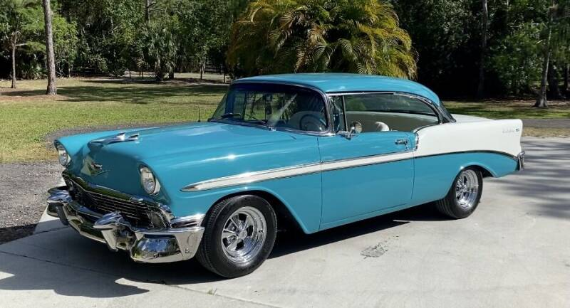 1956 Chevrolet Bel Air for sale at Suncoast Sports Cars and Exotics in West Palm Beach FL
