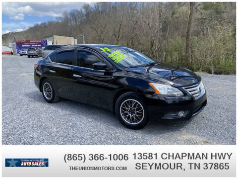 2013 Nissan Sentra for sale at Union Motors in Seymour TN