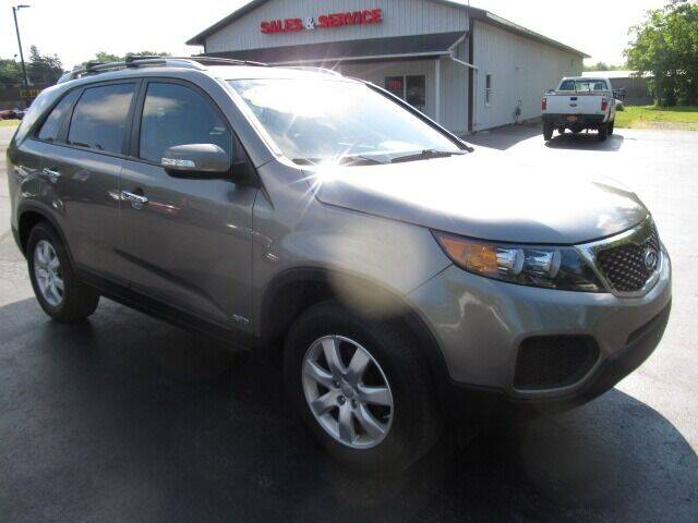 2013 Kia Sorento for sale at Thompson Motors LLC in Attica NY